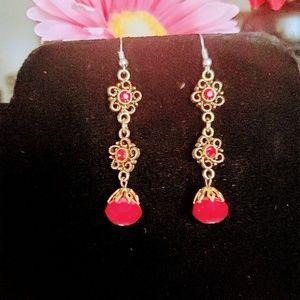 Jewelry - 3/$18 Handmade earrings very nice color and
